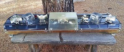 Vintage Code 3 MX7000 Rotator Light Bar For Parts Only