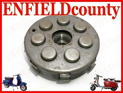 New Vespa Complete Clutch Assembly 21 Cogs 7 Spring Px Pe Rally Models @uk