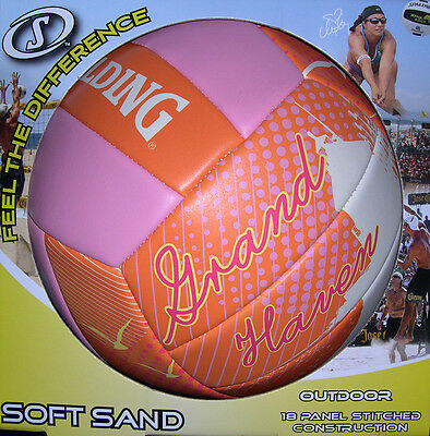 Spalding Volleyball Waters Edge Outdoor Soft Sand Volleyball Grand Haven