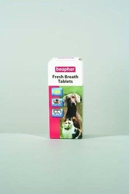 Beaphar Fresh Breath Tablets for Dogs & Cats 40 Capsules