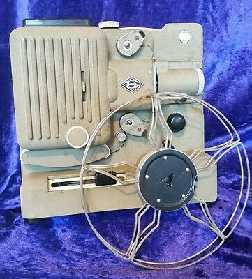 Vintage Eumig Type P8 Automatic 8mm Movie Cine Film Projector Made in Austria