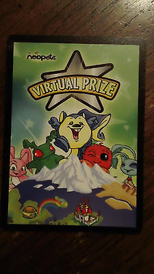 Neopets Virtual Prize Code Card-SPACE FAERIE CHALLENGER-Delieverd by email