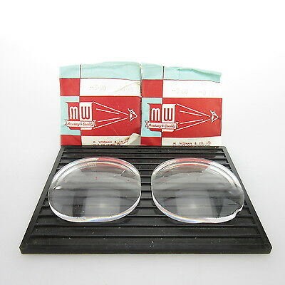 2x M.Wiseman Ø 52x52mm  | sph. -3,0 | cyl. -0,75 | spectacle lens / Linsen
