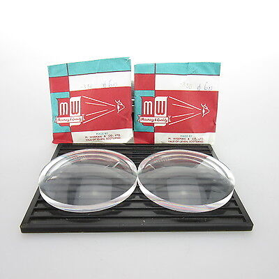 2x M.Wiseman Ø 60mm  | sph. -3,50 | cyl. - | spectacle lens / Linsen
