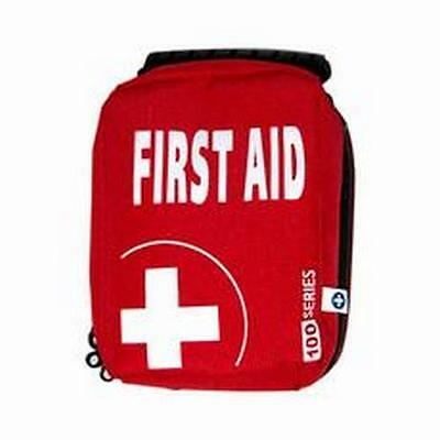 Empty First Aid Kit Bag With  Compartments - Extra Small - Red - Eclipse 100