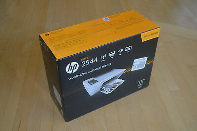 Brand New HP DeskJet 2544 Wireless All-in-One Color Inkjet Printer w/Inks &Cable