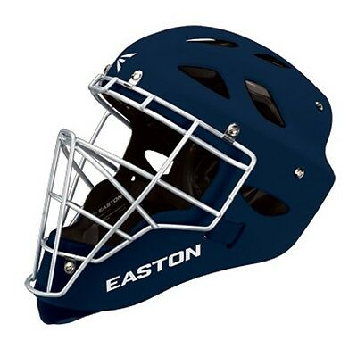 Easton Rival Adult Catchers Helmet - Small - Navy - NEW