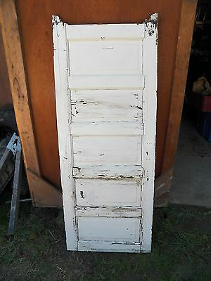 #6 Antique Architectural Salvage Interior Door Use Craft or Woodworking
