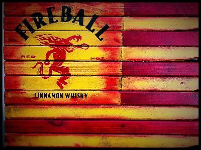 Fireball Whisky Sign