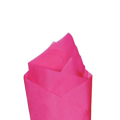 24 Sheets / Pack 20 x 30 Cerise (Pink) Quality Premium Grade Color Tissue Paper