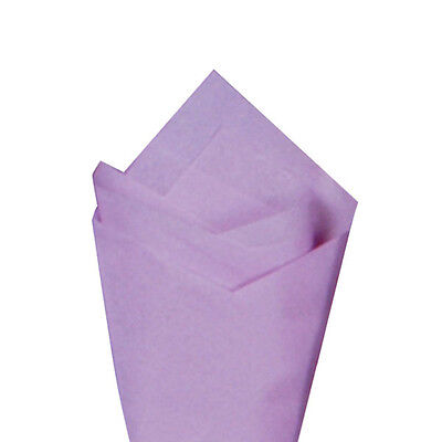 """24 Sheets / Pack 20"""" x 30"""" Lilac Quality Premium Grade Color Tissue Paper"""