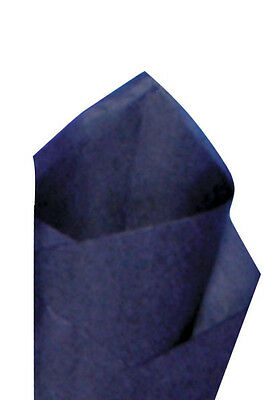 "24 Sheets / Pack 20"" x30"" Midnight Blue Quality Premium Grade Color Tissue Paper"