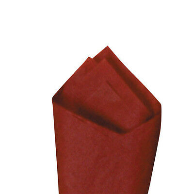 "24 Sheets / Pack 20"" x30"" Mulberry (Maroon) Premium Grade Color Tissue Paper"