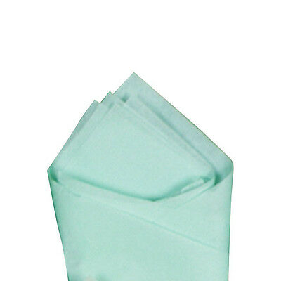 """24 Sheets 20"""" x 30"""" Cool Mint (Green) Quality Premium Grade Color Tissue Paper"""