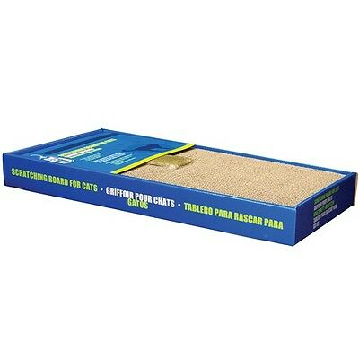 Catit Scratching Board Kitten & Cat Scratch Pad Wide Large With Catnip