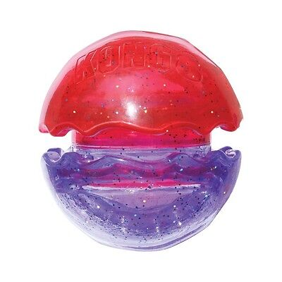 Kong Duet Kibble Ball Dog Toy Treat Ball Cleans Teeth Naturally Pick Size