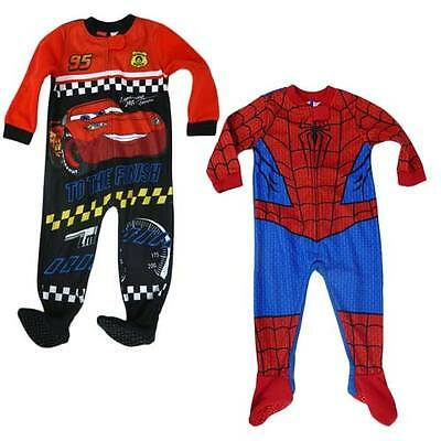 Spiderman Fleece Onesie/Blanket Sleeper - Size 2 - FREE POSTAGE