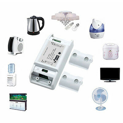 DIY Wi-Fi Wireless Switch For Smart DIY WiWith ABS Shell Mobile Timer Socket NE