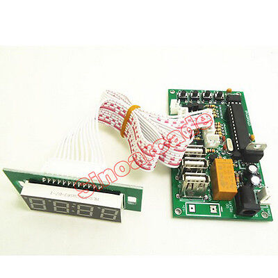 18B Coin Operated USB Timer Board with Separate LCD Display for Vending machine
