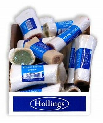 Hollings Dog Treats Filled Dog Bone x 20 Assorted Flavours
