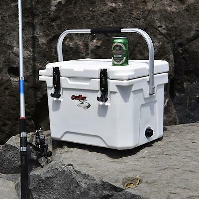 20L Cool Box Portable Coolbox Insulated Cooler Ice Food Drinks Travel Camping Du