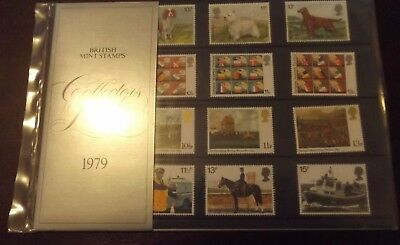 Gb Mnh Presentation Collectors' Pack 1979 Full Commemorative Stamp Year