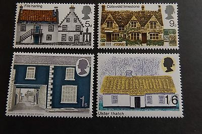 GB MNH STAMP SET 1970 Rural Architecture SG 815-818 UMM