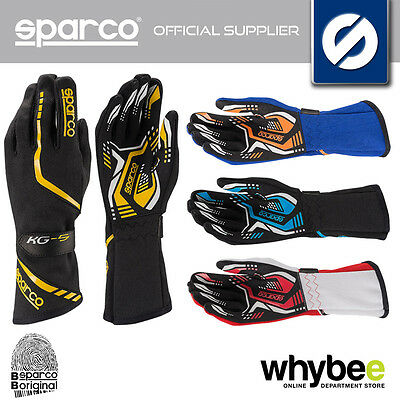 002551 Sparco Torpedo Kg-5 Karting Race Gloves High Grip - 4 Colours! Size 7-13