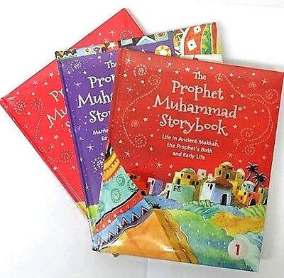 The Prophet Muhammad (Peace be upon him) Storybook 1, 2, 3 (Hardback)
