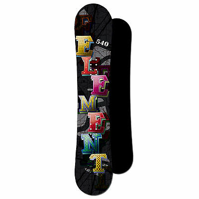 Herren Freestyle Camber Snowboard ~ Fiveforty 540 Element 160 Cm Wide