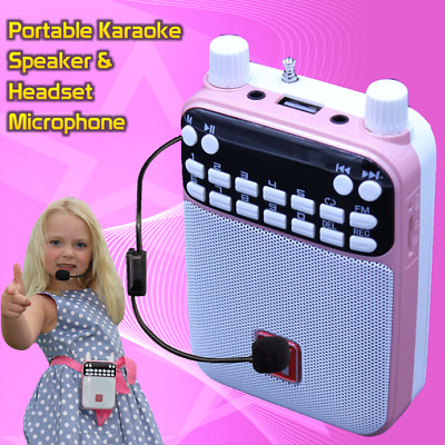 Mr Entertainer PartyBox Karaoke Machine & Portable DVD Player. PINK. 200 SONGS