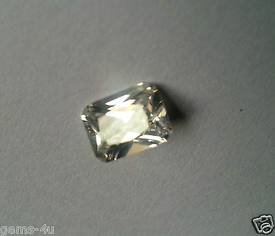 Lab Created Russian Octagon  8X6Mm Diamond Fast & Free Delivery
