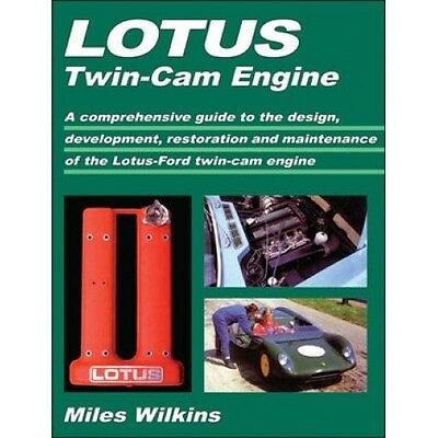 Lotus Twin Cam Engine Manual Lotus Cortina Elan Europa LTTCE NEW