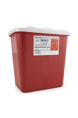 Sharps Container, 2 Gallon, Stackable, McKesson Prevent Select - Each