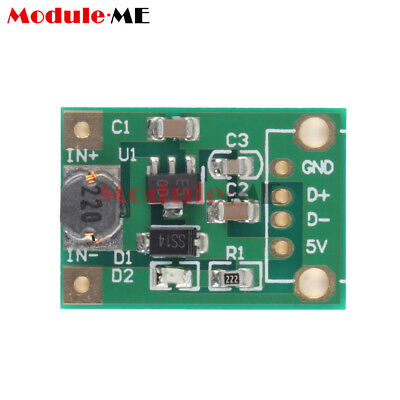 DC-DC Boost Converter Step Up Module 1-5V to 5V 500mA for phone MP4  Arduino MO