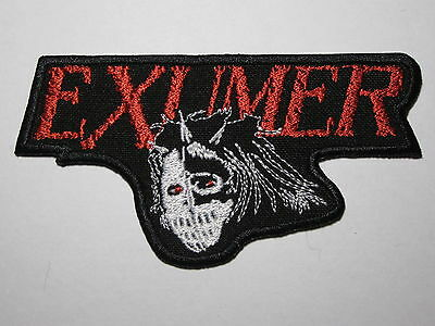 EXUMER logo embroidered NEW patch thrash metal