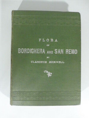 Bicknell, Flora of Bordighera and San Remo or a Catalogue of the Wild Plants