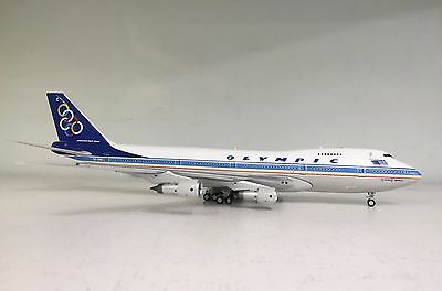 Boeing 747-200 Olympic SX-OAC a metal model in 1/200 scale from Inflight200