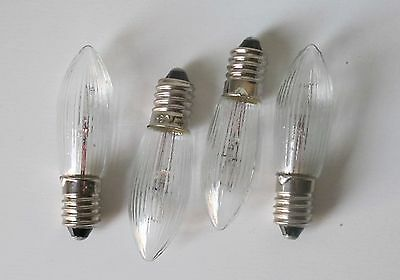 4x Candle Bridge Christmas Arch Welcome Light 7 set replacement E10 34v 3w Lamps