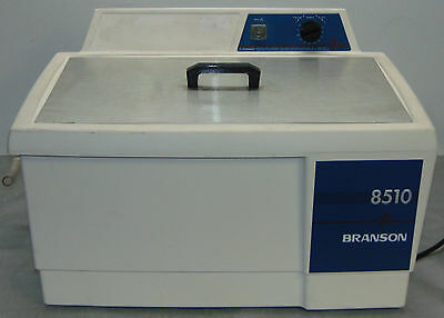 Branson 8510R-MTH Heated Ultrasonic Cleaner 8510 with Lid Bransonic