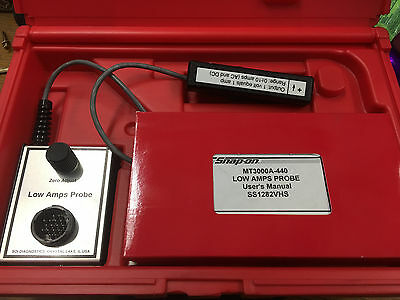 Snap-On MT3000A-440 Low Amps Probe w/ Case and Manuals