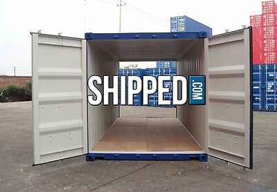 20ft NEW DOUBLE DOOR (TUNNEL) SHIPPING CONTAINER - STORAGE SHELTER in TAMPA, FL