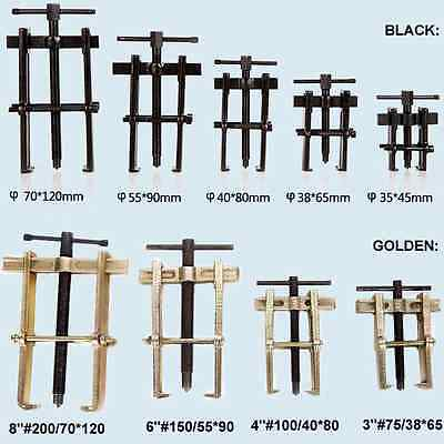 """2.5~10"""" EU Type 2-Jaws Gearbox Transmission Bearing Axle Puller Tools Extractors"""