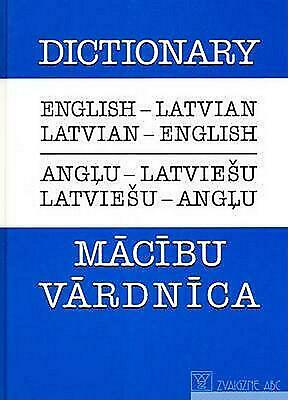 English-latvian and Latvian-english Dictionary by R. Mozere (English) Paperback