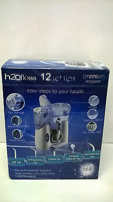 H2O Floss HF-8 Premium Oral and Nasal Irrigator 800ml Adjustable