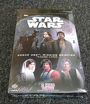 Star Wars Rogue One Mission Briefing Factory Sealed Box with 2 Hits - Journey to