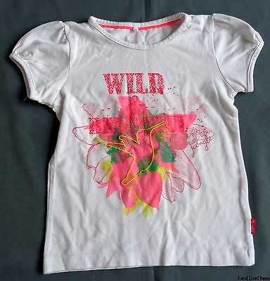 maat 86 NAME IT T-shirt wit L37cm B28cm met print wild
