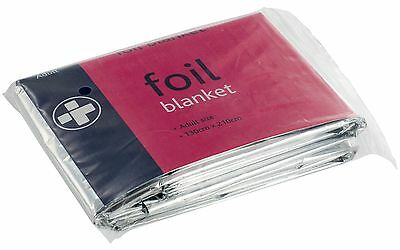 Emergency Foil Thermal Blanket  - Survival Adult Sensory First Aid Camping Space