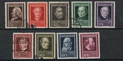 STAMPS AUSTRIA 1937 DOCTORS   (FU/USED/MLH )  lot A220