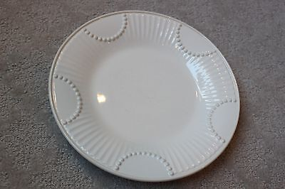 """Lenox Butler's Pantry 9 1/8"""" Accent Luncheon Salad Plate White Butlers Pantry"""